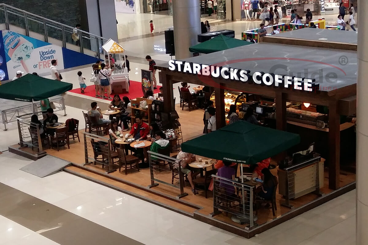 Starbucks coffee food stall sm angeles guide Robinson s home furniture philippines