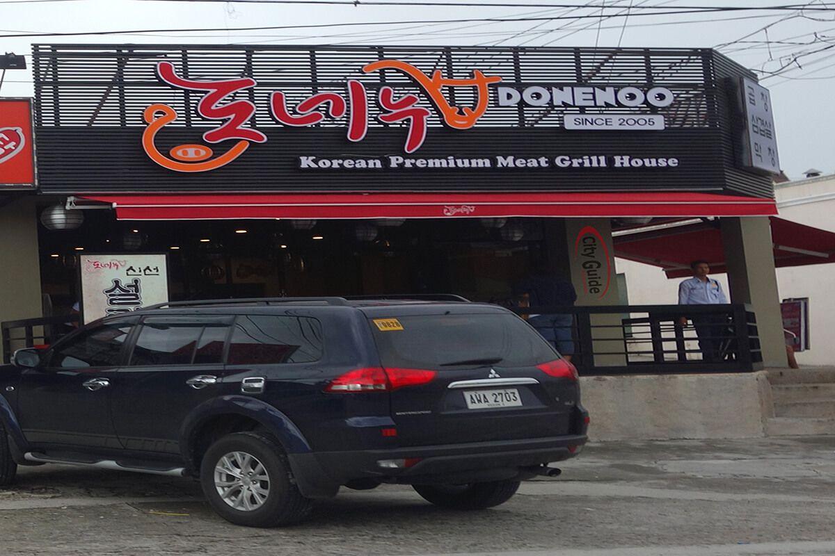 Donenoo-Restaurant-Korean-Town-Friendship-Highway-Angeles-City
