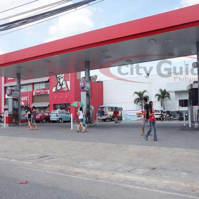 Caltex Gas Station Dau